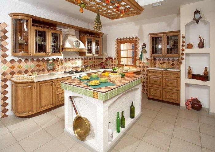 Русский стиль на кухне.