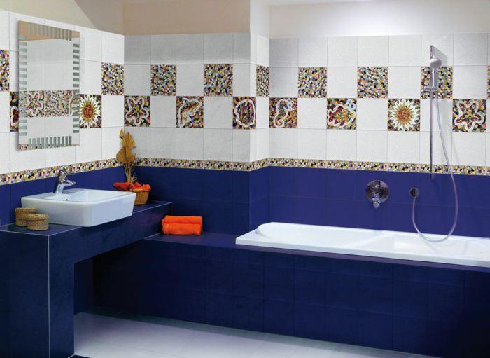 Цвета в ванной.