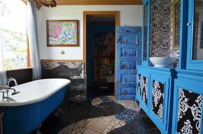 Прованс ванная.