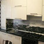 Скинали с фотопечатью для белой кухни