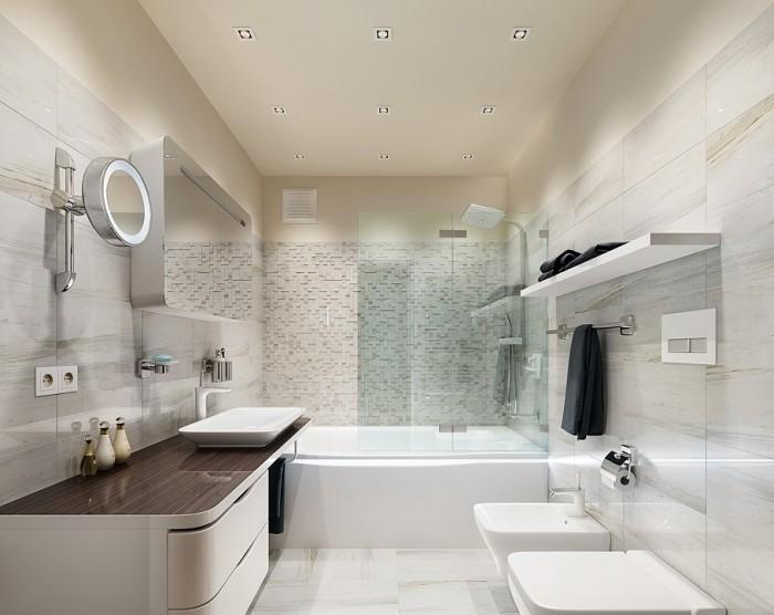 Мебель в ванной.