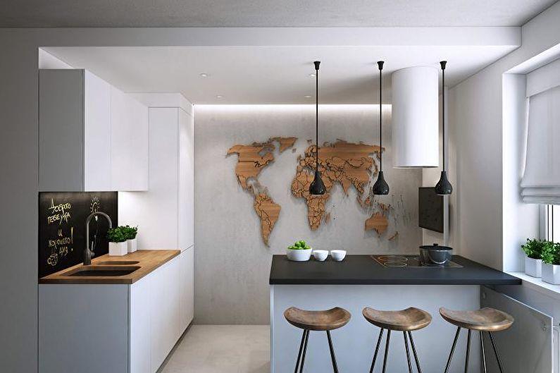 Декорирование кухни в современном стиле