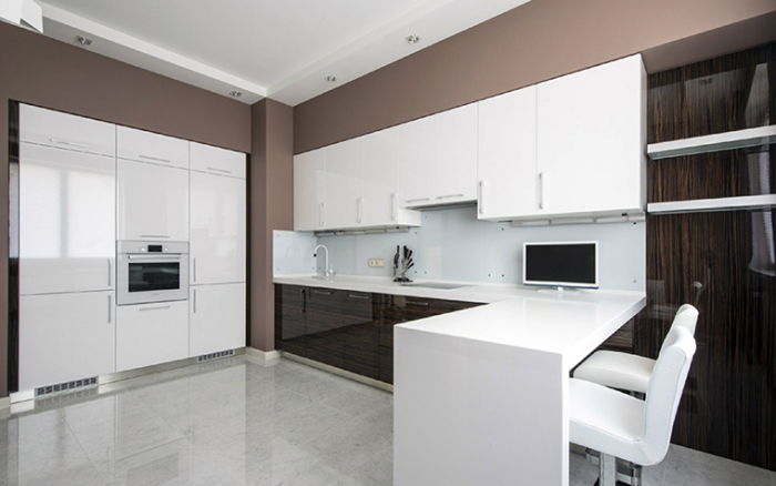 Кухня минимализм.