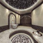 Дизайн интерьера ванной комнаты в турецком стиле