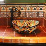 Накладная раковина с восточными орнаментами