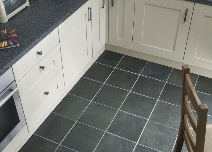 Керамическая плитка на кухне.