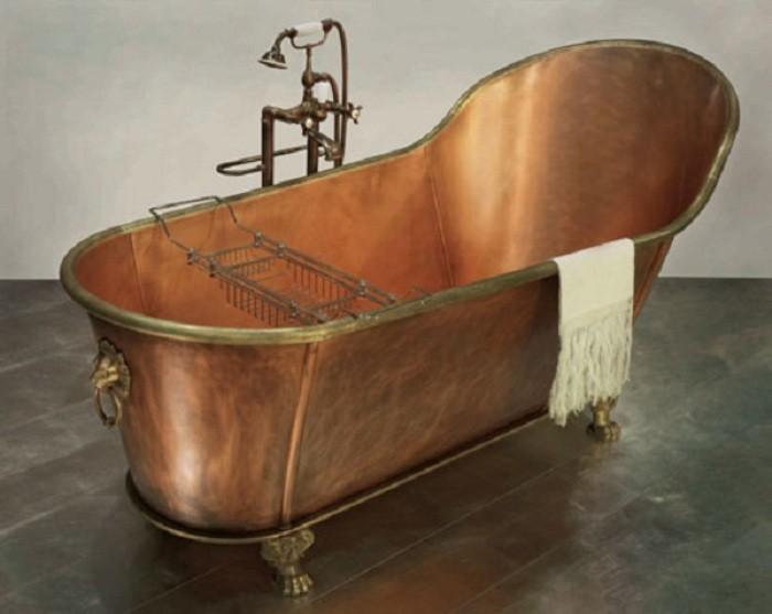 Медная ванна.