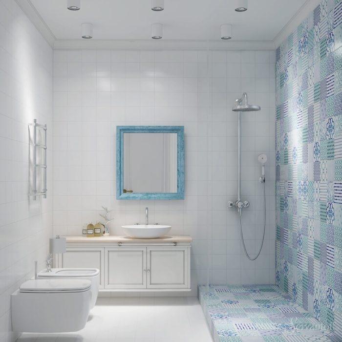 Интерьер ванной.