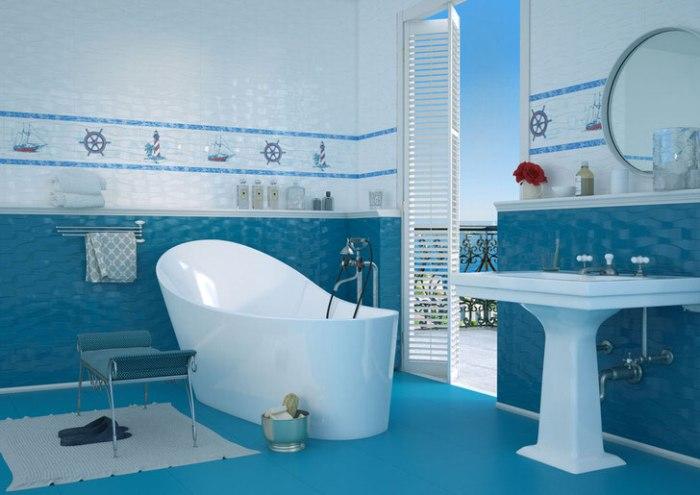 Плитка для стен в ванной.