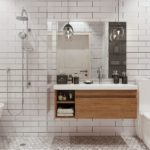 Ванная в скандинавском стиле фото