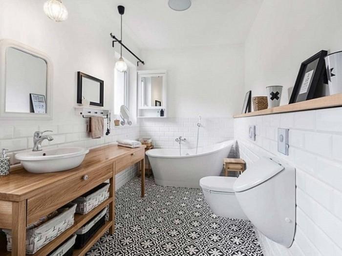 Аксессуары в ванной.