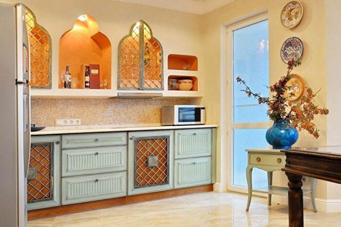 Выбор стиля для маленькой кухни.