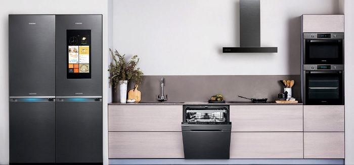 Встроенная техника на кухне.