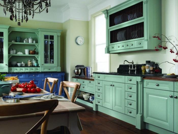 Зеленая кухня.
