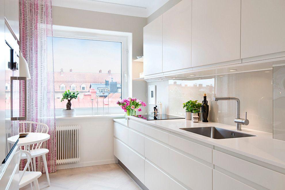 Элементы минимализма в кухне скандинавского стиля