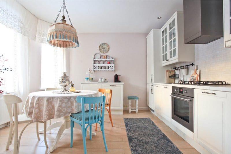 Подбор клеенки для кухни под цвет штор