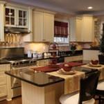 Кухонный остров вместо обеденного стола