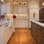 Кухонная мебель с фасадами рамочного типа