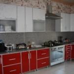 Кухонная мебель с пластиковыми фасадами