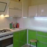 Подсветка рабочих поверхностей в кухне панельного дома