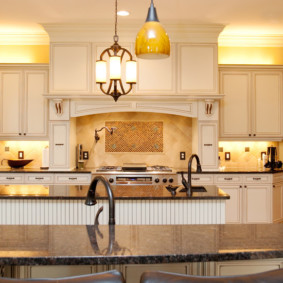 Кухонные столешницы из искусственного камня