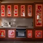 Кухонный гарнитур линейной планировки для маленькой комнаты