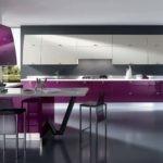 Линейная кухня в стиле минимализма