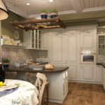 Деревенский стиль в оформлении кухни