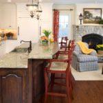 Кухонная мойка в барной стойке