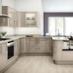 П-образная планировка рабочей зоны кухни