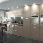 Точечная подсветка фасадов кухонного гарнитура