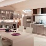 Дизайн просторной кухни с островом