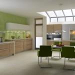 Кухонные стулья зеленого цвета