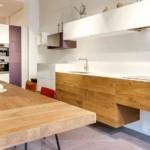 Кухонная столешница из клеенной древесины