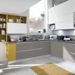 Коврик на полу кухни в частном доме
