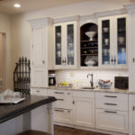 Кухонный шкаф с рамочными фасадами