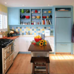 Дизайн кухни в дачном домике