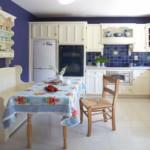 Кухонная скатерть из натуральной ткани
