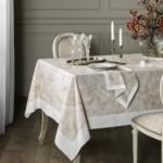 Декор стола в классической кухне