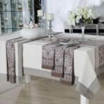 Текстиль в декоре кухонного стола