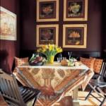 Декор картинами кухонной стены