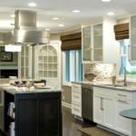 Освещение кухни в частном доме