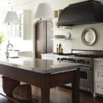 Кухонный стол с мойкой в столешнице