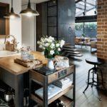 Кухонная мебель в промышленном стиле