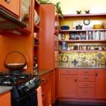 Компактная рабочая зона кухни