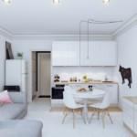Свободная планировка квартиры-студии