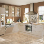 Дизайн кухни с ламинированным полом