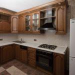 Кухонный гарнитур с фасадами из МДФ