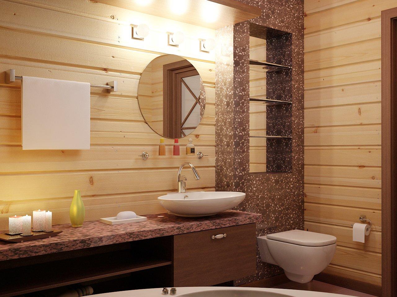 санузел в деревянном доме своими руками фото накручивать полоску