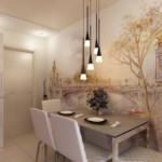 фотообои на стене кухни в восточном стиле